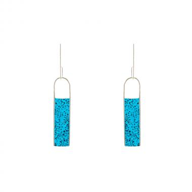 Come Together Teal Earrings