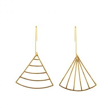 Lin Gold Earrings