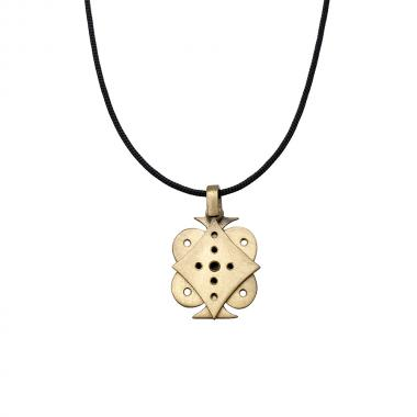 Lucky Charm 2021 Single Card Gold Pendant