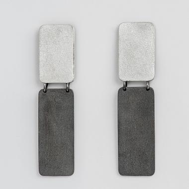 Shapes Square Earrings