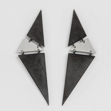 Shapes Triangles Earrings