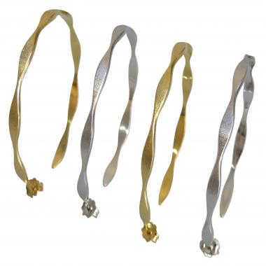 Oscillation Gold Hoops